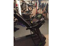 Elevation fitness treadmill hardly used.