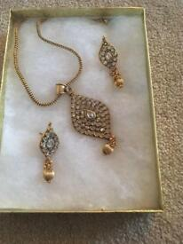 A Indian pendant set for sale