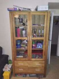Royal Oak Display Cabinet