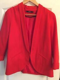 Miss selfridge jacket size 14