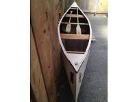 Canadian open canoe - hand built