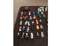 Lego mini figures bundle