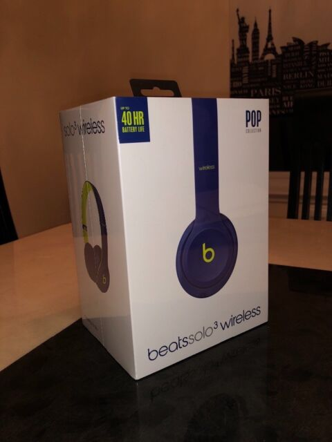 df2383bab25 Brand new unopened box - Beats Solo3 Wireless On-Ear Headphones – Beats Pop  Collection – Pop Indigo
