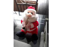 lovely musical santa