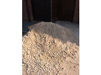 Type 1 hardcore and sharp sand - FREE
