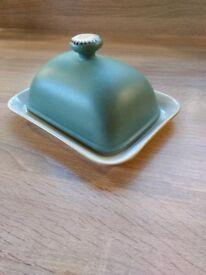 Denby butter dish