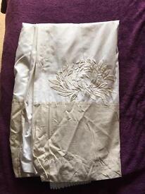 Next Cream Detailed Curtains