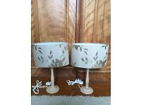 Laura Ashley Lamps - Pair