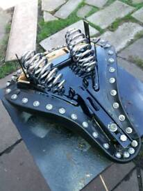 Costume motorcycle seat