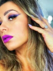 MUA make-up artist and beauty technician