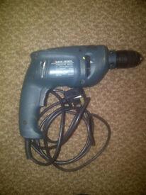 Black & Decker Electric Drill Twistlok 600W KR600CRE 13mm