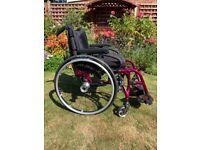 Quickie Xenon SA Lightweight Folding Wheelchair