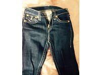 Girls genuine true religion jeans