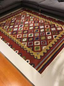 Moroccan kiln rug