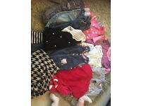 Girls 12-18 bundle next outfits, trousers,dungarees