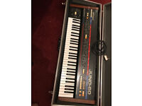 Roland Juno 60 Analogue synthesizer for sale.