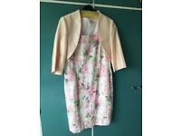 Libra dress and jacket unworn. Matching fastenater