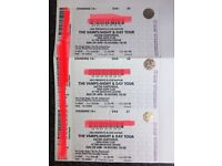 The Vamps tickets x 3 , Brighton centre 29th April. £100 for all 3 . Collection only, cash only.