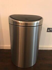 Brabantia Touch Bin, Matt Steel, 40L RRP £152