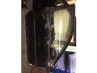 mk4 golf front doors in solid black