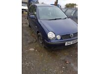 2004 VW POLO 1.2 PETROL BREAKING FOR PARTS