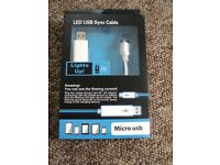Brand new micro usb cable in box