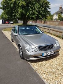 Mercedes E320 Avantgarde petrol, 2004, Panoramic Roof and fully loaded