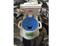 Fisher price musical potty great for potty training