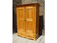 FREE DELIVERY Vintage Pine Wardrobe Retro Furniture
