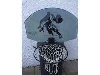 Wall-Mounted Basketball Net