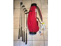 Golf Clubs, bag and accessories