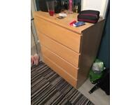 Chest of drawers maple