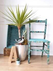Bespoke child's chair.