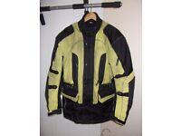 Hi-Viz Motorcycle Jacket