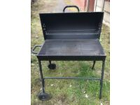 CHARCOAL DRUM BBQ WITH COVER (ARGOS)