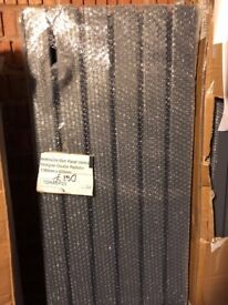 ANTHRACITE VERTICAL FLAT PANEL RADIATOR 1780 X 420MM, New, with brackets