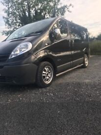 Mint 2008 Nissan Primastar full psv 6 seater alloys chrome bars full history