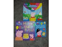 Peppa Pig Books - x3 - All excellent condition