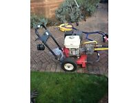 Commercial Honda based power washer and kit - ideal as a business starter pack