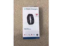 Fitbit Charge 2 Heart Rate and Fitness Wristband - Small Black - Brand New SEALED