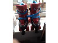 Spider-Man roller quad