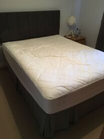 King Size Divan Bed & Headboard