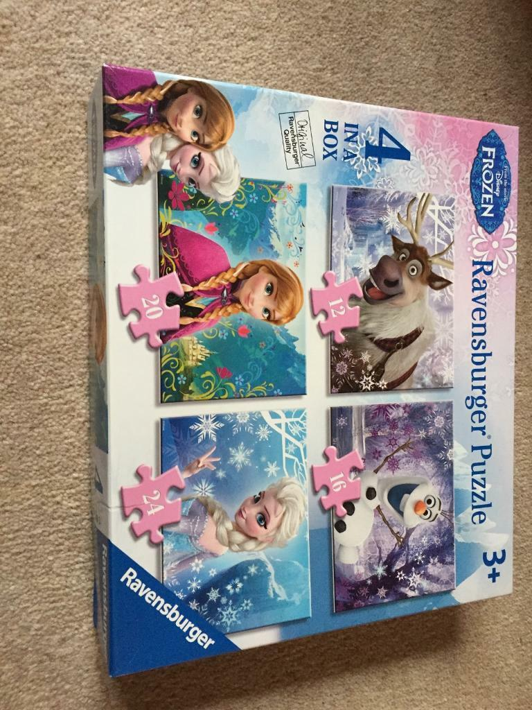 Frozen jigsaws