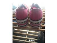 Pink Platform converse S3