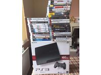 FOR SALE PLAYSTATION 3 AND 34 GAMES £110