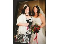 Beautiful wedding dress boxed as new