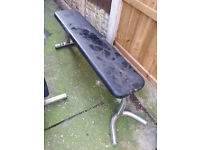 Weight lifting bench flat and incline for sale