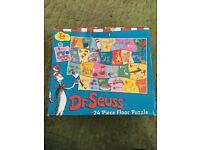 Dr Seuss 24 Piece Floor Puzzle