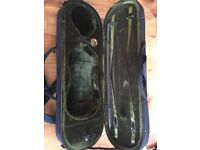 Half and 3/4 size violin case in excellent condition