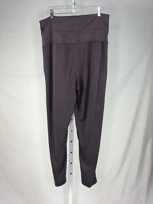 Fabletics Size XL Purple Women's Sweatpants Leggings Cropped